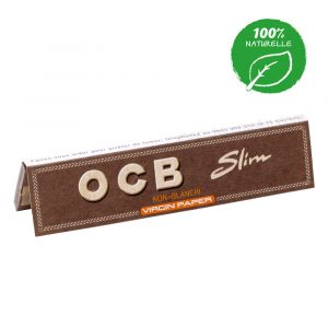 carnet slim ocb virgin paper