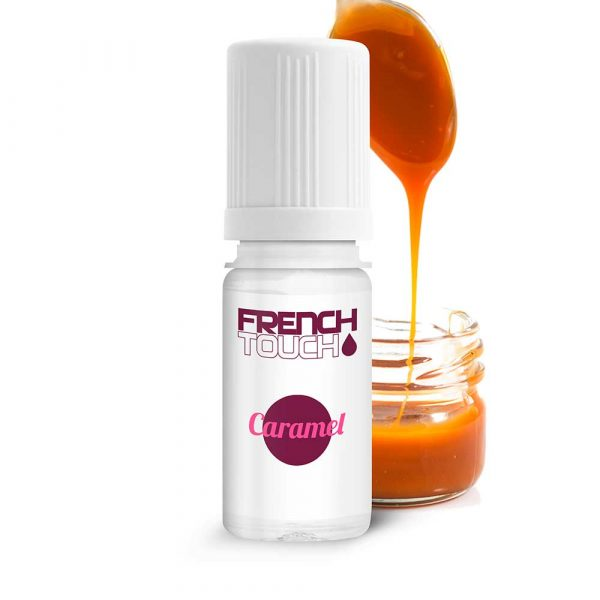 E-liquide French Touch Caramel - 0 mg
