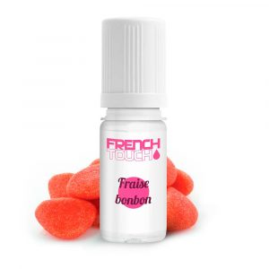 E-liquide French Touch Fraise Bonbon - 0 mg
