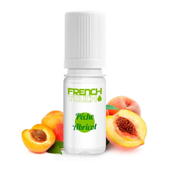 E-liquide French Touch Pêche-Abricot - 0 mg