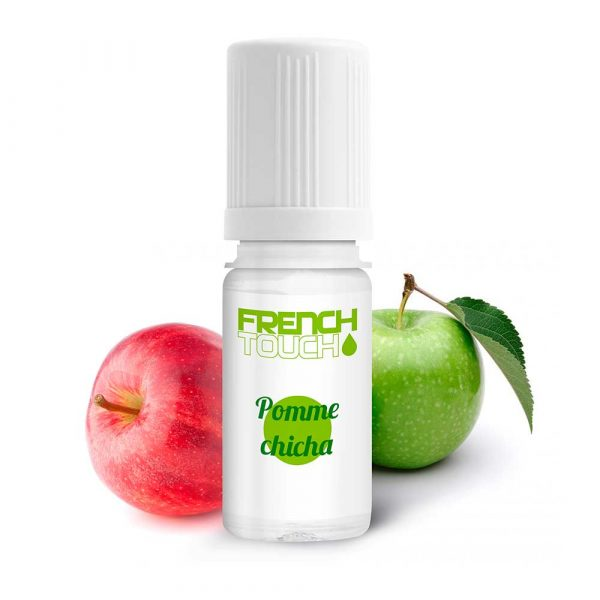 E-liquide French Touch Pomme chicha - 0 mg