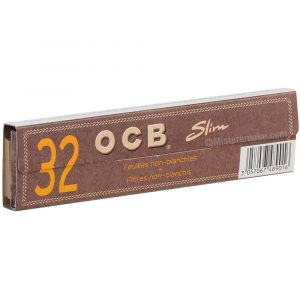 OCB Slim tips Virgin paper