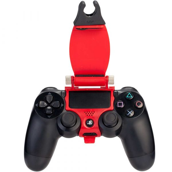 Support tuyau chicha manette PS4 - Rouge