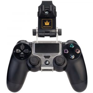 Support tuyau chicha manette PS4 - Transparent