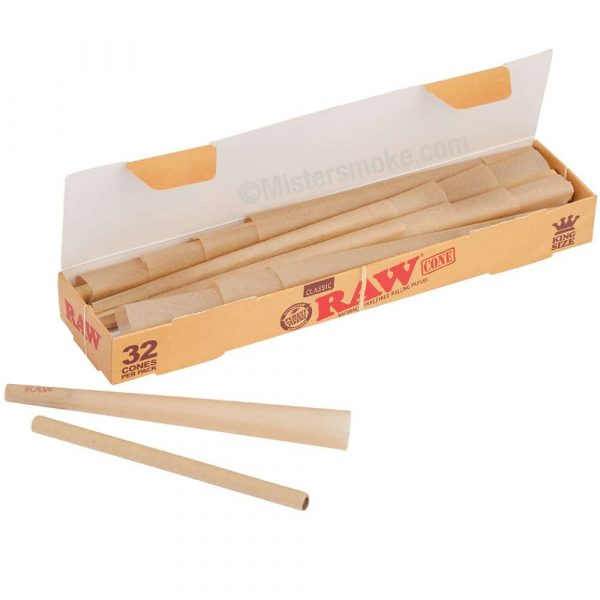 Cônes RAW King Size boite