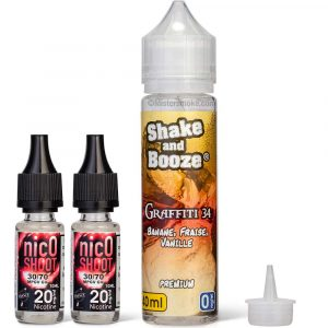 Shake & Booze DIY - Graffiti - 60 ml - Bio Concept - 6 mg/ml