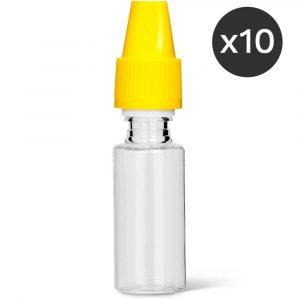 Lot de 10 flacons pipette e-liquide DIY