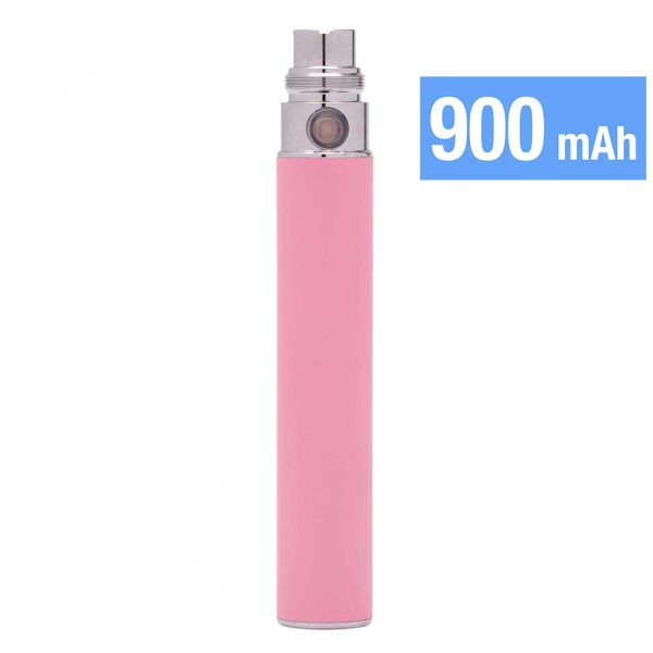 Batterie e-cigarette Ego 900 mAh - Rose