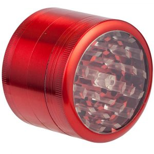 Grinder Hornet 4 parties 63 mm - Rouge