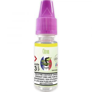 E-liquide 10 ml - Citron - Bioconcept - 3mg/ml
