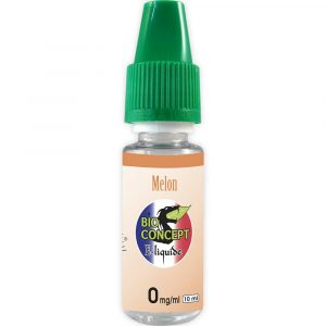 E-liquide 10 ml - Melon - Bioconcept - 0mg/ml
