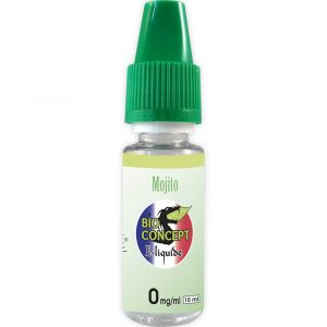 E-liquide 10 ml - Mojito - Bioconcept - 0mg/ml