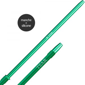 Tuyau complet silicone Tsar finger - Vert