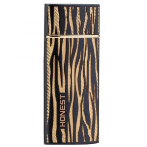 Briquet USB Zebra - Black & Gold