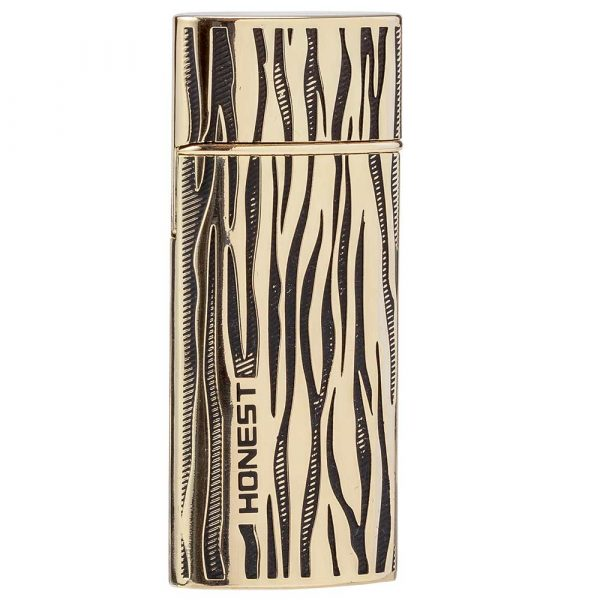 Briquet USB Zebra - Gold & Black