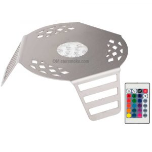 Base LED en inox Noble Dust