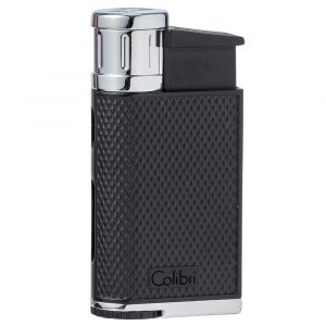 Briquet chalumeau Colibri Evo - Black/Chrome