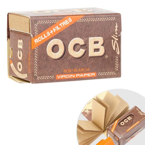 OCB Rolls Virgin + Tips