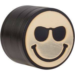 Grinder métal 4 parties 50 mm Smiley - Smiley glasses