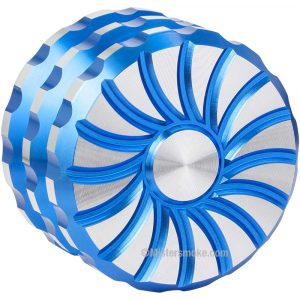 Grinder 60 mm Magnetic Sun - Bleu