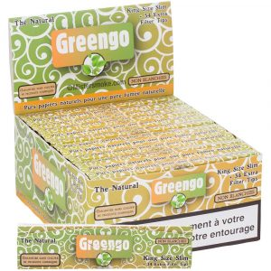 Boite de 24 carnets Greengo slim + tips