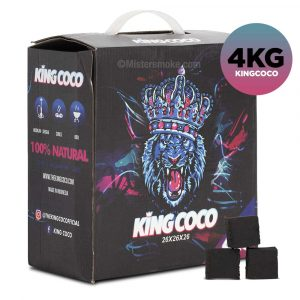 Charbon naturel King Coco 4 kg