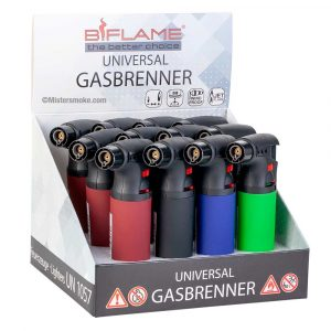 Grand briquet chalumeau rechargeable