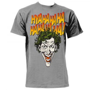 t shirt imprimé batman joker homme