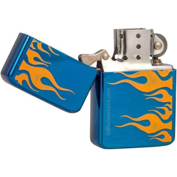 briquet essence flamme