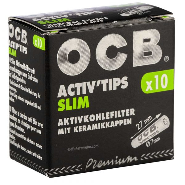Filtres OCB Activ tips slim